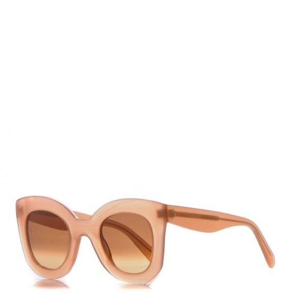 1a68a6efb7b Celine Pink Marta Sunglasses